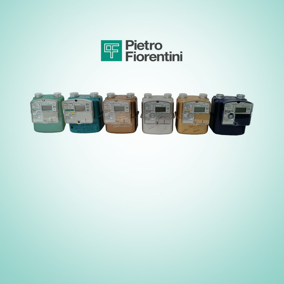 Reached and exceeded the total number of 6 million smart meters produced by Pietro Fiorentini