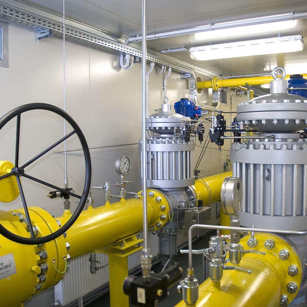 Regolatori per gas ad alta-media pressione