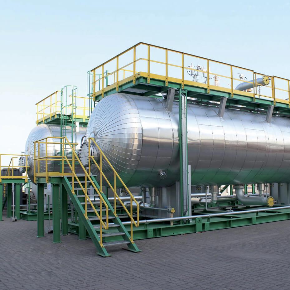 Disidratatori e desalinizzatori per petrolio
