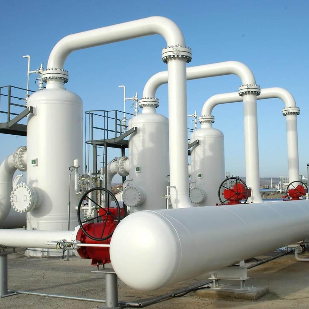 Trattamento del gas