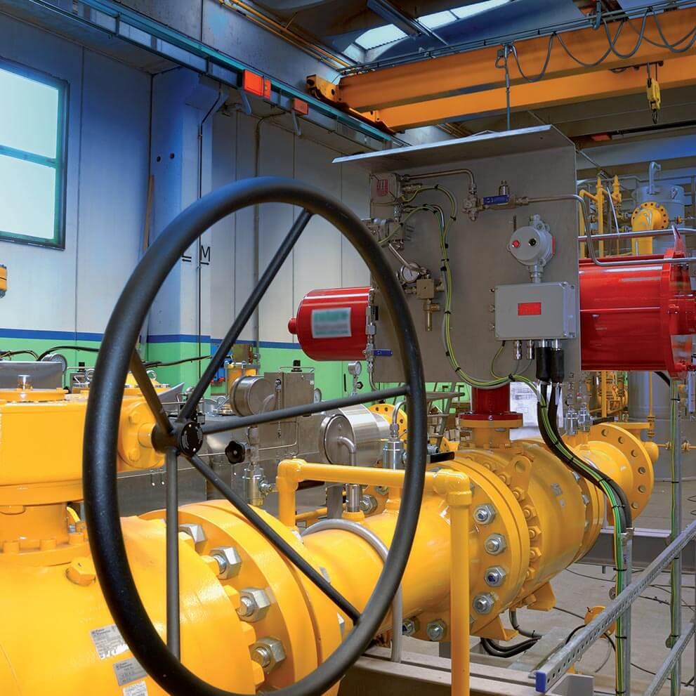 Protezione della sovrapressione del gas