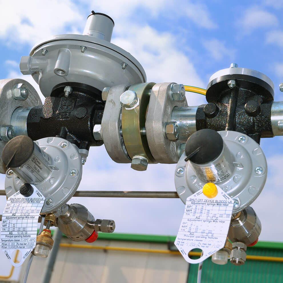 Low pressure gas regulators and governors