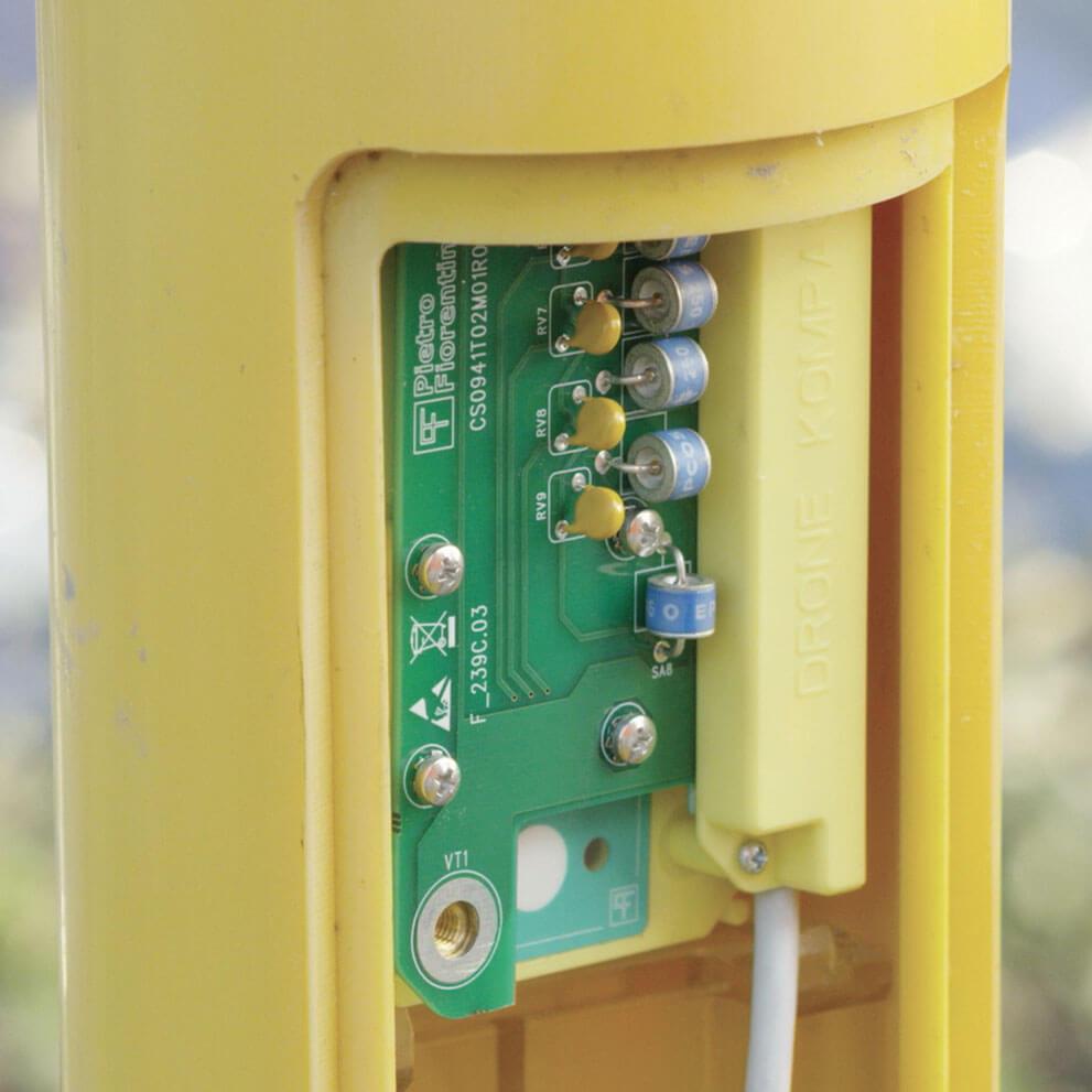 Monitoraggio rete gas e conversione di volumi