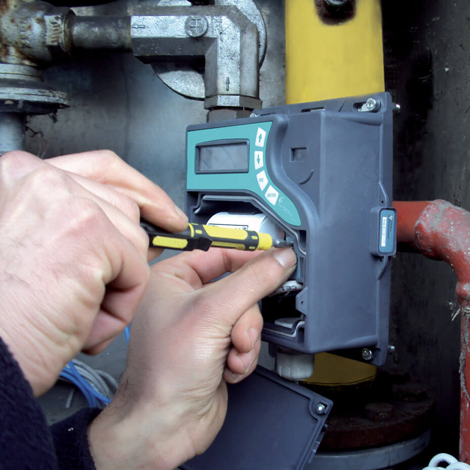Electronic and metering maintenance