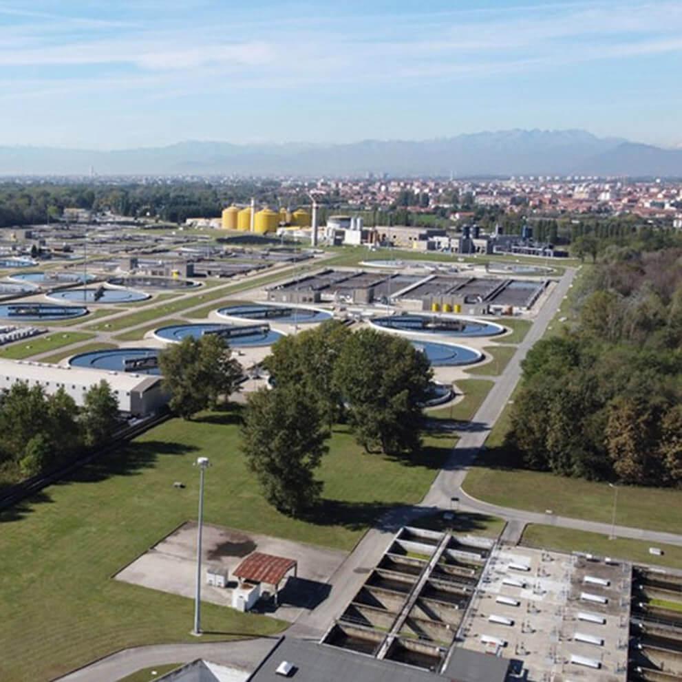 L'impianto di upgrading del biogas e iniezione in rete di biometano del sito di depurazione acque del Gruppo SMAT a Castiglione Torinese