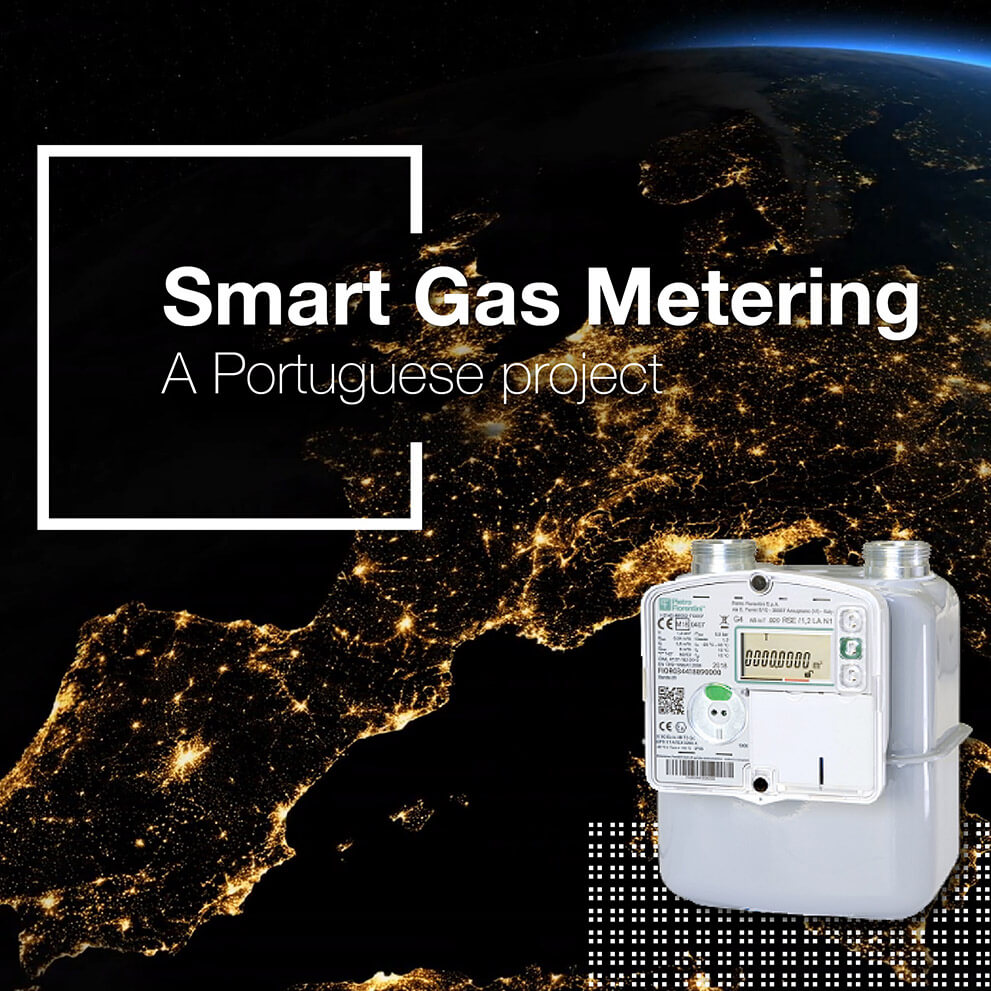 The smart meters by Pietro Fiorentini protagonists of a Portuguese project