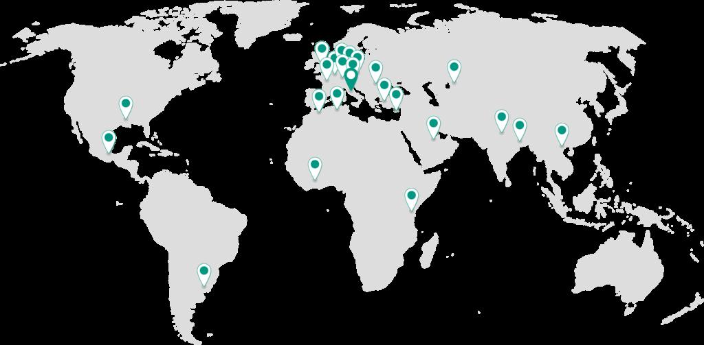 Il gruppo Pietro Fiorentini ha sedi in tutto il mondo