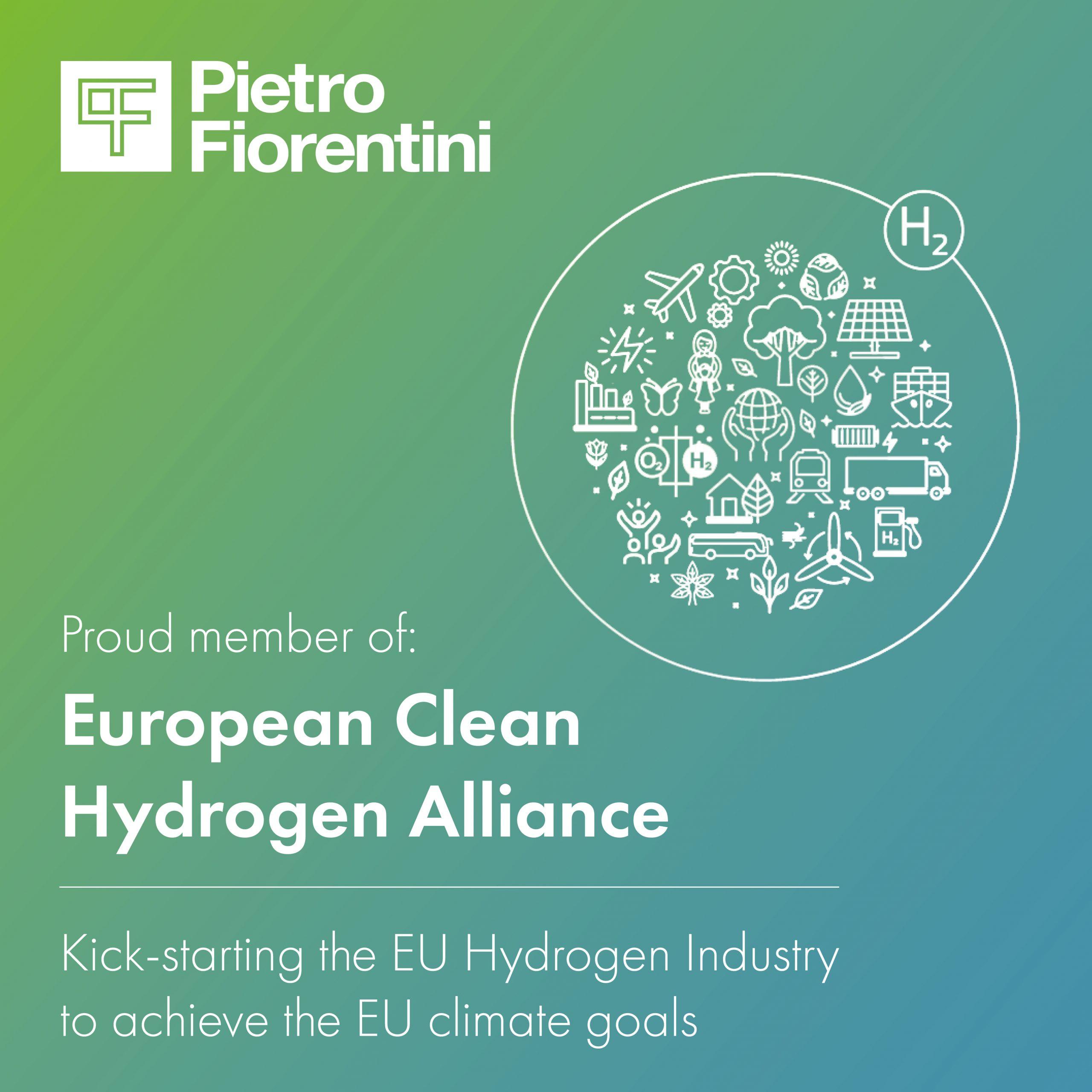Pietro Fiorentini joins the European Clean Hydrogen Alliance